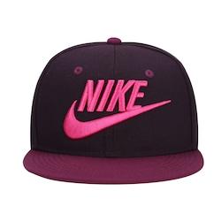 Boné Aba Reta Nike Futura True - Snapback - Infantil - Vinho/Preto