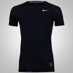 Camisa de Compressão Nike Pro Cool - Masculina - PRETO