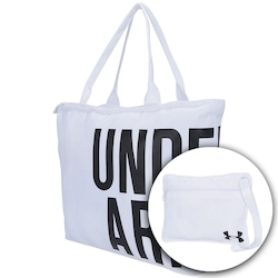 Bolsa Under Armour Big Wordmark + Necéssaire - Feminina - Branco 18059da7e60f2