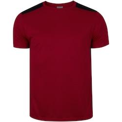 Camisa Adams Soccer - Masculina - Vermelho/Preto