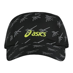 Boné Asics Train - Strapback - Adulto - PRETO