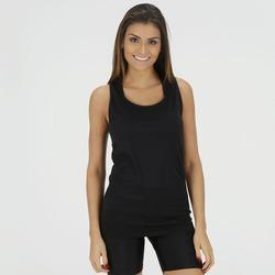 Camiseta Regata Oxer Seamless Ivy - Feminina - PRETO