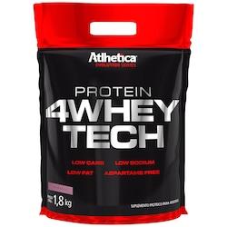 Whey Protein Atlhetica 4Whey Tech - Morango - 1,8 Kg