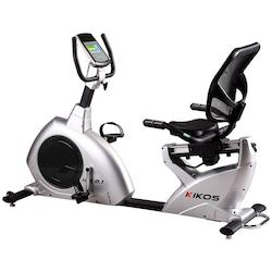 Bicicleta Ergométrica Kikos KR9.1 Bivolt - CINZA/PRETO