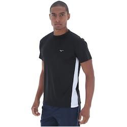 Camiseta Mizuno Wave Run - Masculina - PRETO/PRATA