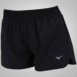 Shorts 2 em 1 Mizuno Run Impetus - Feminino - PRETO