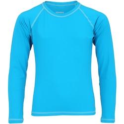 7ca82dbd6 Camiseta Manga Longa Com Proteção Solar Uv50 Oxer - Infantil - Azul cinza