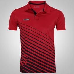 Camisa Polo Lotto Bastazani - Masculina - VERMELHO