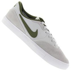 Tênis Nike SB Paul Rodriguez 9 VR - Masculino - Cinza Cla/Verde Esc