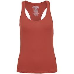 Camiseta Regata Oxer Campeão Classic - Feminina - LARANJA ESCURO