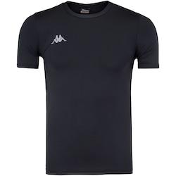 Camisa de Compressão Kappa Embrace - Masculina - PRETO