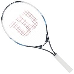 Raquete de Tennis Wilson US Open 25 New - Infantil - 9 a 10 anos - AZUL/BRANCO