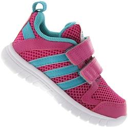 tenis-adidas-sta-fluid-3-cf-infantil-rosa