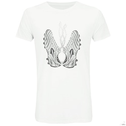 Camiseta Topper Futebol Chuteira - Masculina - BRANCO