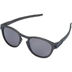 óculos De Sol Oakley Latch Polarizado Iridium - Masculino - Marrom a74f4e69fd