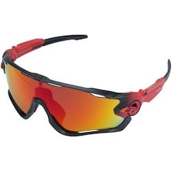 óculos Para Ciclismo Oakley Jawbreaker Prizm - Adulto - Vermelho preto a19f8a5afa