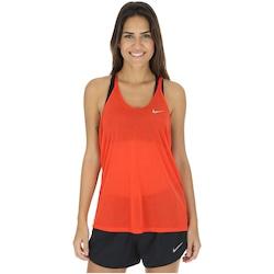 Camiseta Regata Nike DF Cool Breeze Strappy - Feminina - LARANJA