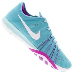 Tênis Nike Free Tr 6 - Feminino - Azul Claro 9c32871892b9f