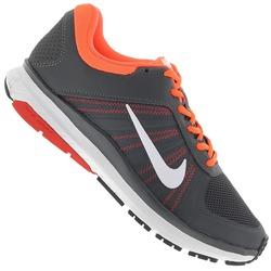 Tênis Nike Dart 12 MSL - Masculino - CINZA ESCURO/BRANCO