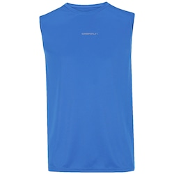 Camiseta Regata Oxer Basic Light - Masculina - AZUL/PRATA
