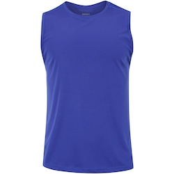 Camiseta Regata Oxer Basic Light - Masculina - AZUL ESC/CINZA