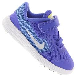 Tênis Nike Revolution 3 BB Feminino - Infantil - AZUL/AZUL CLARO