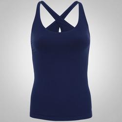 Camiseta Regata Oxer Skin - Feminina - AZUL ESCURO