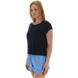 Camiseta Oxer Cropped Dry - Feminina - PRETO