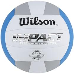 Bola de Vôlei Wilson Impact AZ/CZ - BRANCO/AZUL