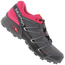 Tênis Salomon Speedcross Vario - Feminino - CINZA ESC/ROSA
