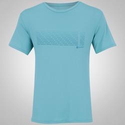 Camiseta com Proteção Solar Oxer Estampada Flow - Masculina - VERDE