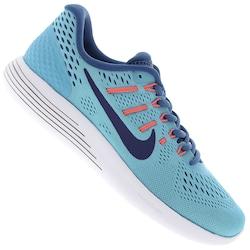 Tênis Nike Lunarglide 8 - Masculino - AZUL CLA/AZUL ESC
