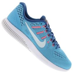 Tênis Nike Lunarglide 8 - Feminino - AZUL CLA/AZUL