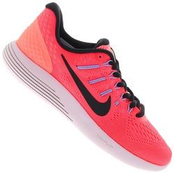 Tênis Nike Lunarglide 8 - Feminino - ROSA/PRETO