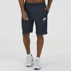 Bermuda Nike Season - Masculina - AZUL ESC/BRANCO