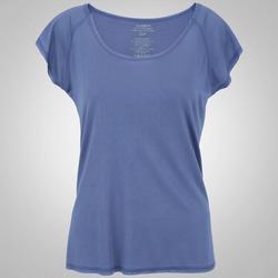 Camiseta Oxer Ari New - Feminina - AZUL/CINZA