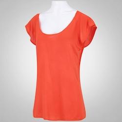 Camiseta Oxer Ari New - Feminina - LARANJA ESCURO