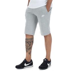 Bermuda Nike JSY Club - Masculina - CINZA