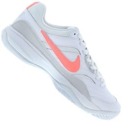 Tênis Nike Court Lite - Feminino - BRANCO/ROSA