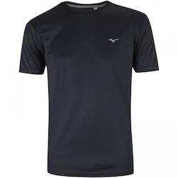 Camiseta Mizuno Run Spark 2 - Masculina - PRETO
