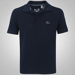Camisa Polo Mizuno Rory 2 - Masculina - AZUL ESCURO