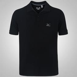 Camisa Polo Mizuno Rory 2 - Masculina - PRETO/CINZA ESC