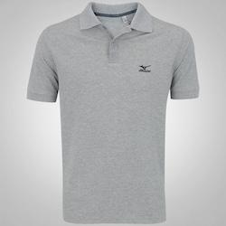 Camisa Polo Mizuno Rory 2 - Masculina - CINZA ESCURO