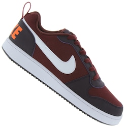 Tênis Nike Court Borough Low - Masculino - VINHO/ROXO