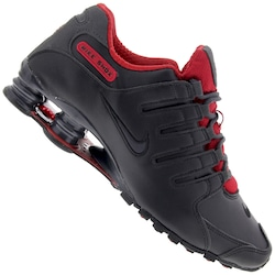Tênis Nike Shox NZ SE - Masculino - PRETO/VERMELHO
