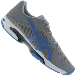 Tênis Asics Gel Solution Speed 3 - Masculino - CINZA/AZUL