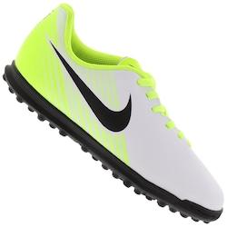 Chuteira Society Nike Magista OLA II TF - Infantil - BRANCO/PRETO