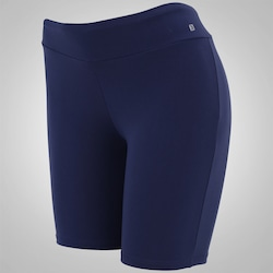 Shorts Oxer Slim - Feminino - AZUL ESCURO