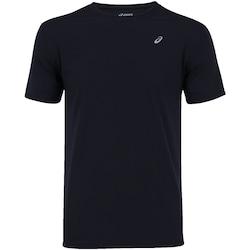 Camiseta Asics Run SS - Masculina - PRETO