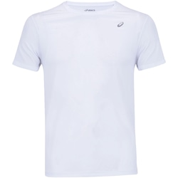 Camiseta Asics Run Mesh SS - Masculina - BRANCO